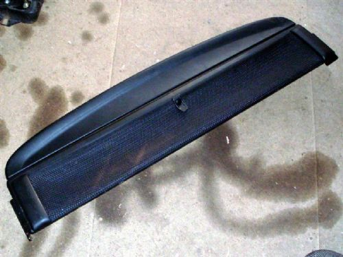 Windblocker, Mazda MX-5 mk2 factory fit type wind deflector, black, USED